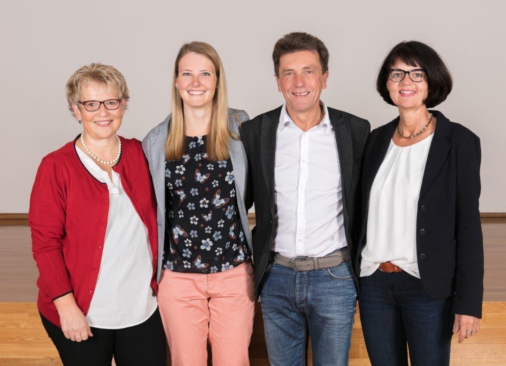 Frau Wägele, Frau Heß, Herr Schmidt, Frau Nagel