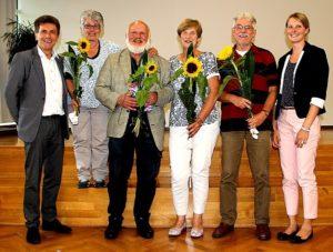 Gruppenfoto Einige Lehrer verlassen das Kollegium