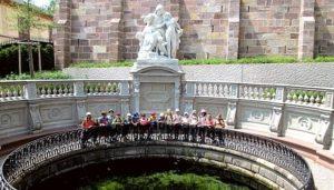 Gruppenfoto Schüler der KWS machen einen Ausflug nach Donaueschingen
