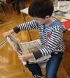 Schüler liest