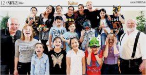 Grupppenfoto Bild ausder NRWZ