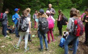Schüler der KWS machen eine lange Wanderung