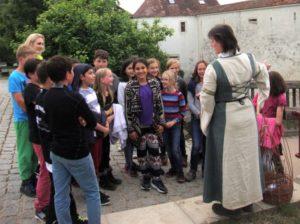 Schüler der KWS auf den Spuren des Mittelalters