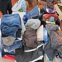 Klamottenberg Die KWS veranstaltet einen Flohmarkt