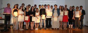 Entlassfeier an der Konrad-Witz-Schule 2015