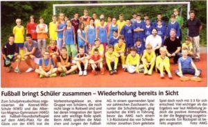 Fußball bringt Kinder zusammen