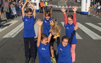 Kinder beim Stadtlauf KWS ist beim Stadtlauf erfolgreich vertreten