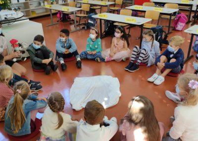 1. Unterrichtsstunde Klasse 1a