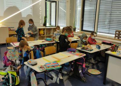 Unterrichtsalltag Klasse 2b Klasse 2b im Deutschunterricht