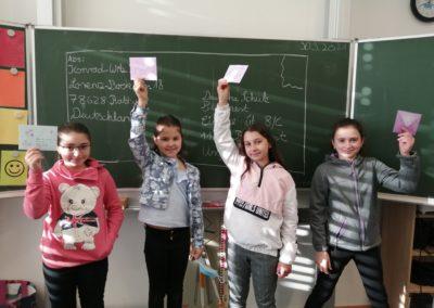 Briefprojekt der ehemaligen Klasse 4b